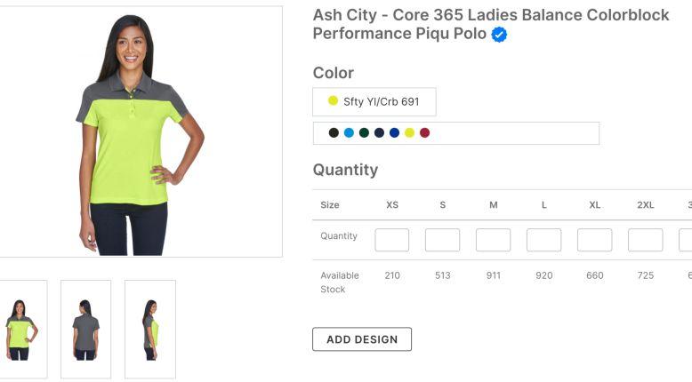 Ash City - Core 365 Ladies Balance Colorblock Performance Piqu Polo