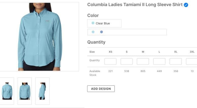 Columbia Ladies Tamiami II Long Sleeve Shirt