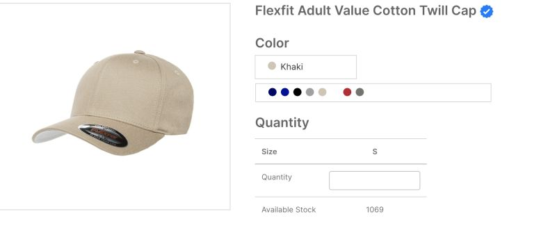 Flexfit Adult Value Cotton Twill Cap