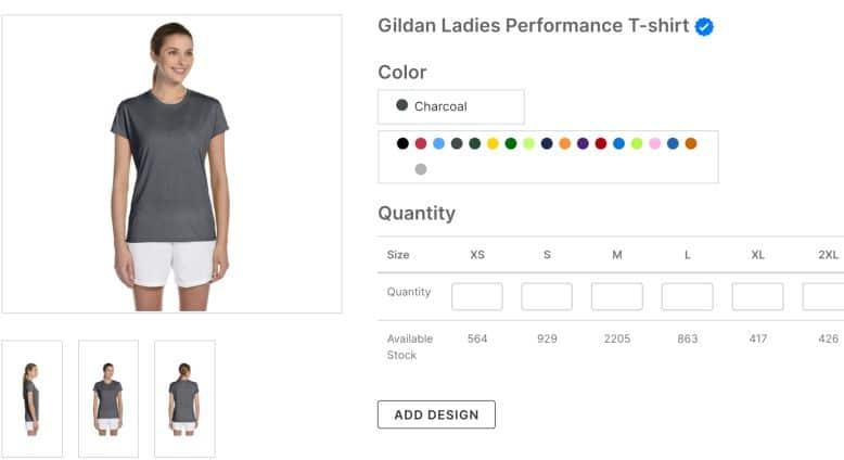 Gildan Ladies Performance T-Shirt