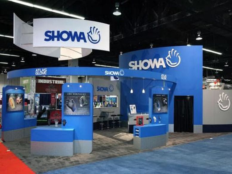 Showa trade show booth