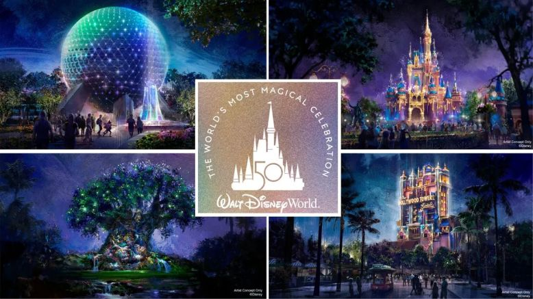 Walt Disney World's 50th Anniversary Everything You Need to Know