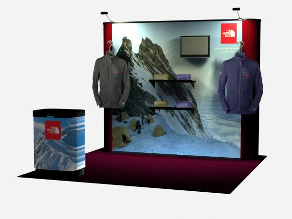 product pop up trade show displays
