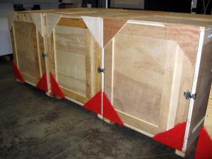 Custom Wood Crate -- Examples