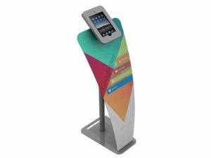 ECO-12K Sustainable iPad Kiosk