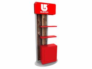 ECO-13K-B Sustainable Kiosk