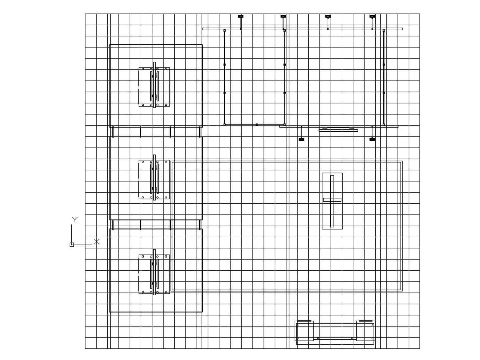ECO-6084 Hybrid S Island - plan view