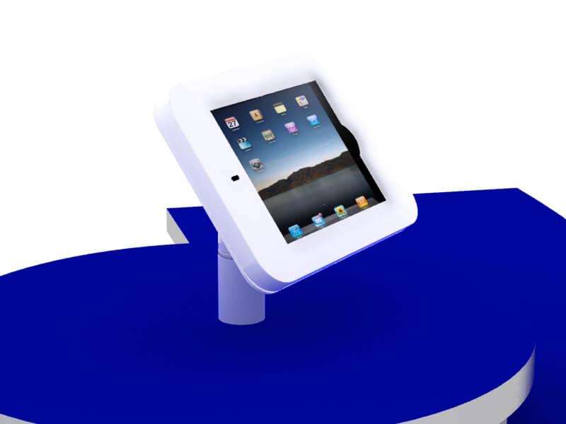 MOD-1329 Rotating iPad Counter Mount (White)