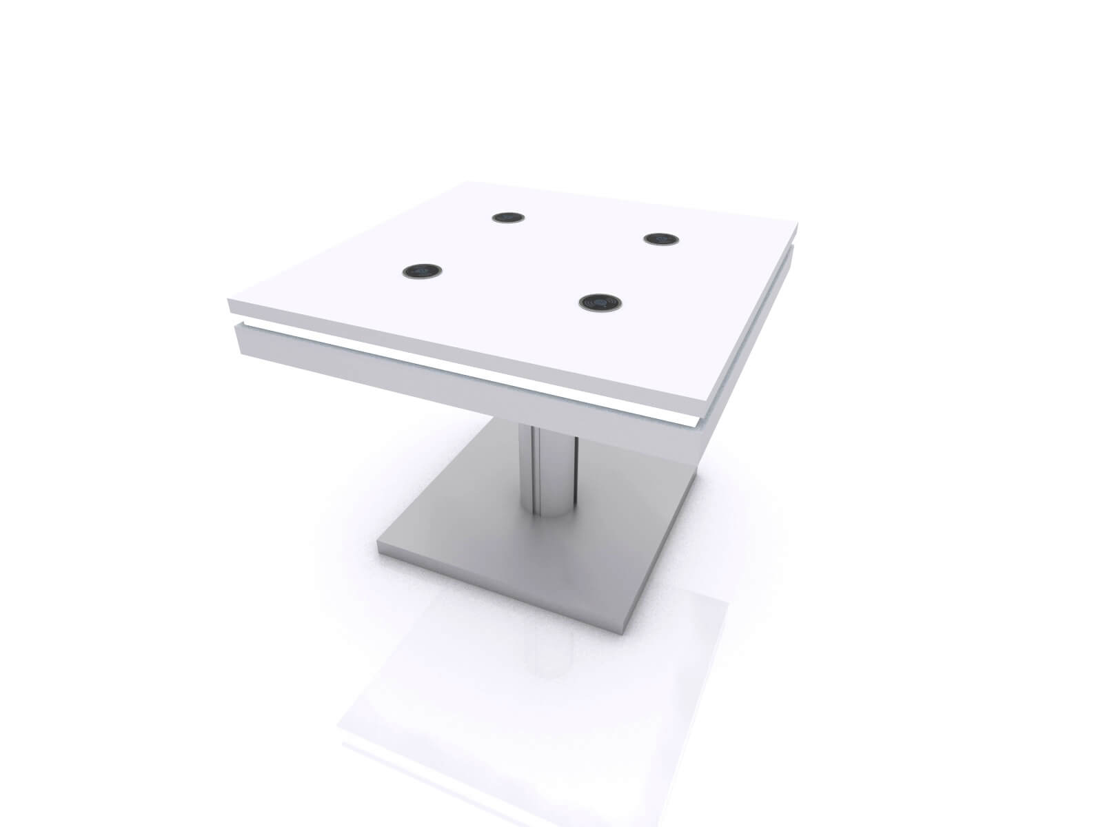 MOD-1456 Wireless Coffee Table without Graphic
