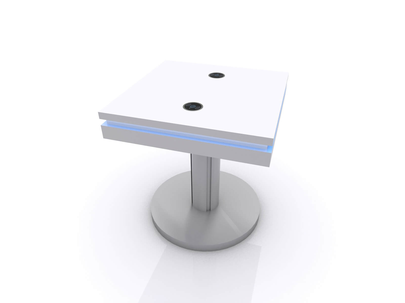 MOD-1459 Wireless End Table without Graphic