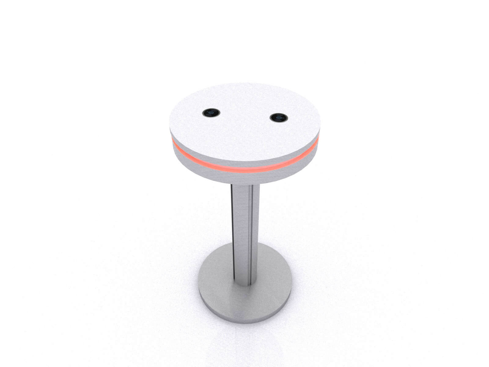 MOD-1462 Wireless Portable Bistro Table without Graphic