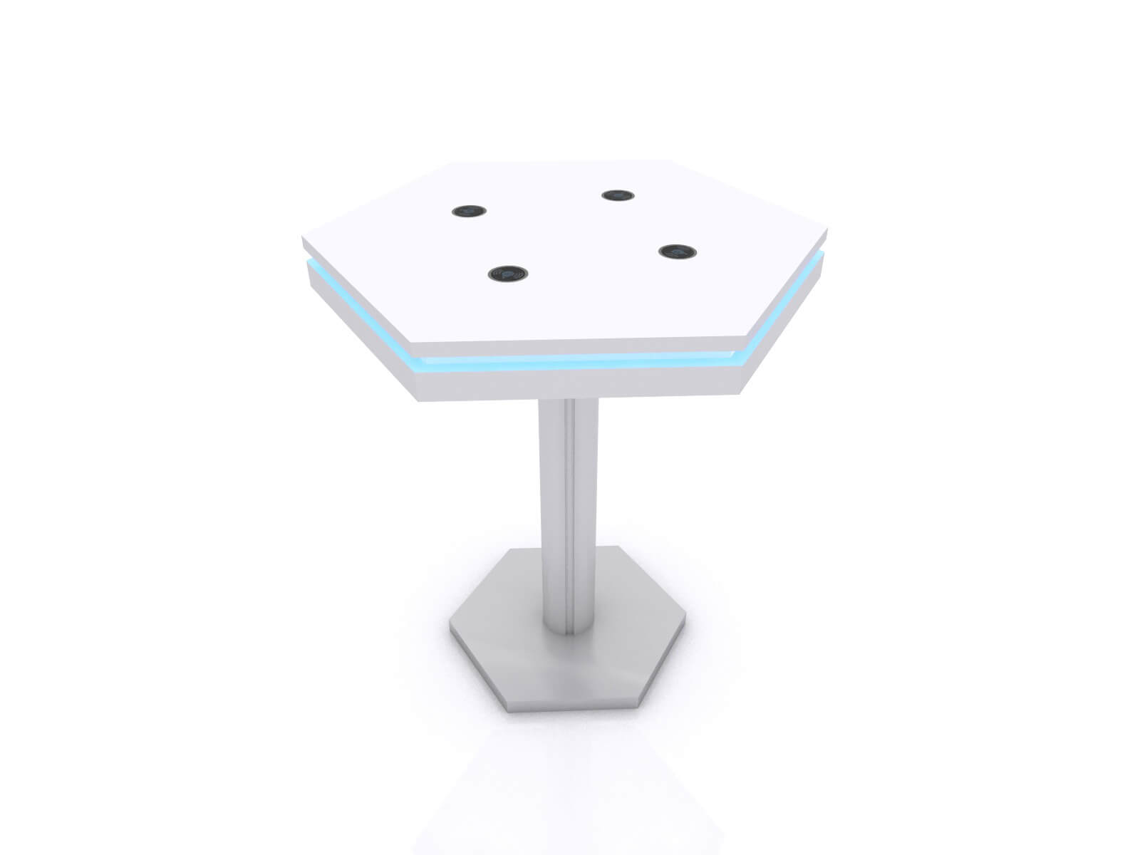 MOD-1465 Wireless Bistro Table without Graphic