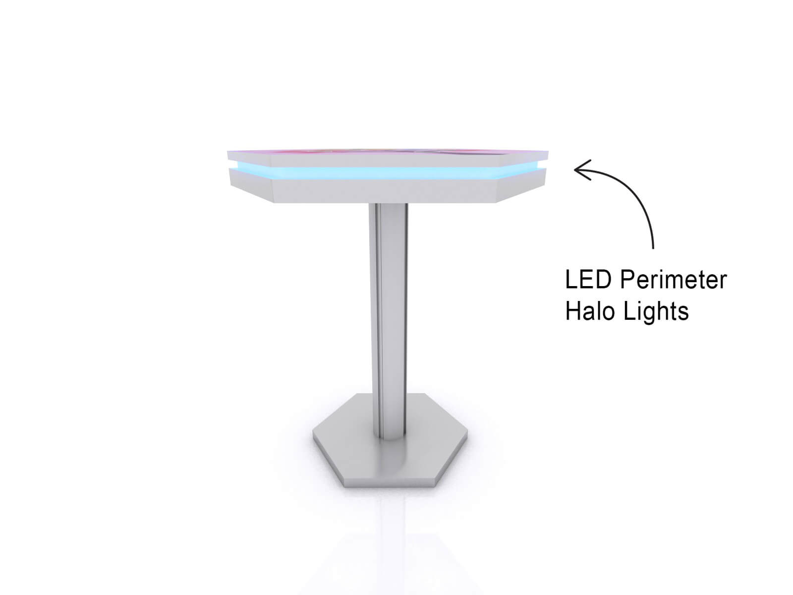 MOD-1465 Wireless Trade Show and Event Charging Bistro Table - image 3