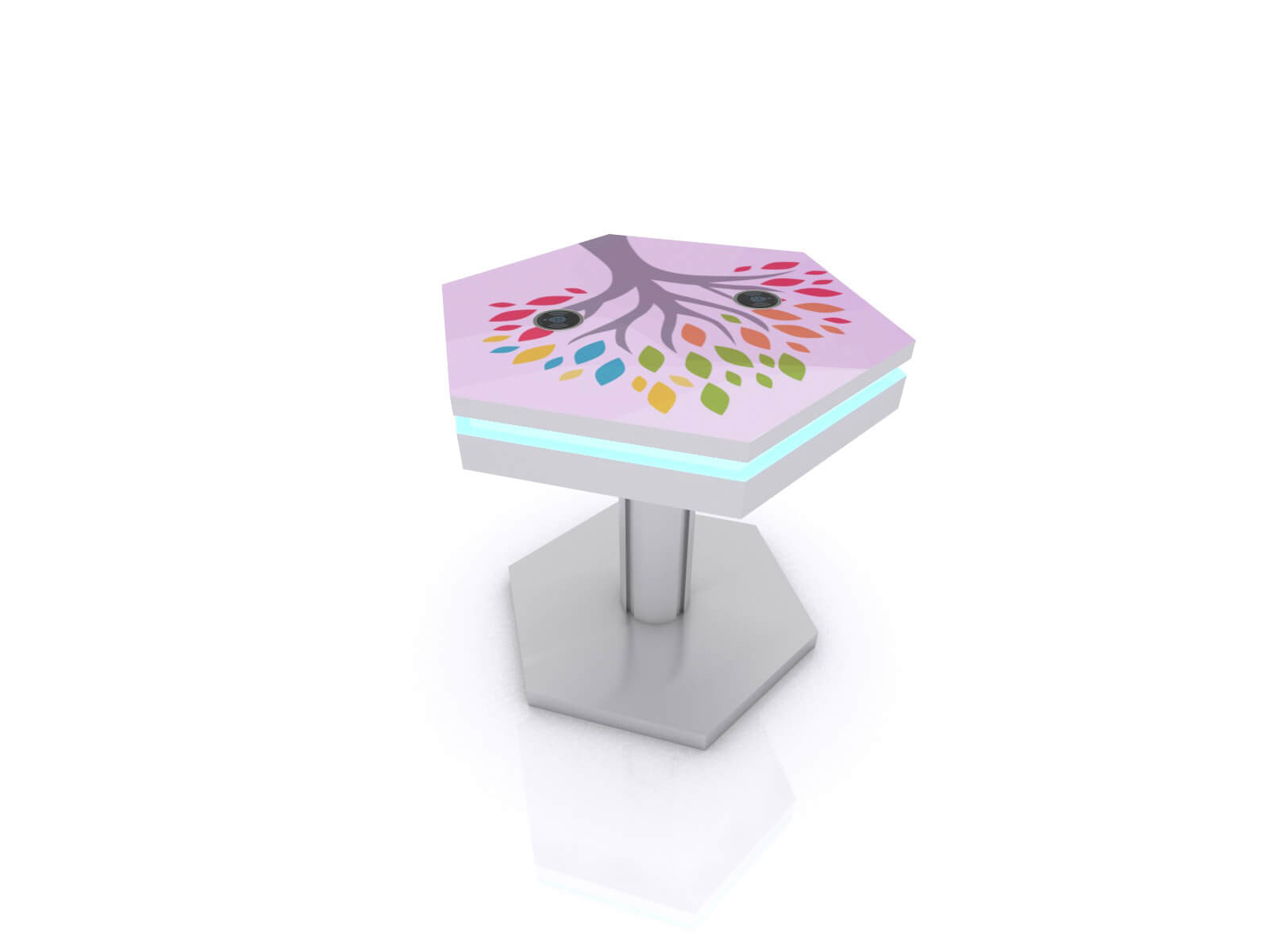 MOD-1466 Trade Show and Event Wireless End Table Charging Station - image 1