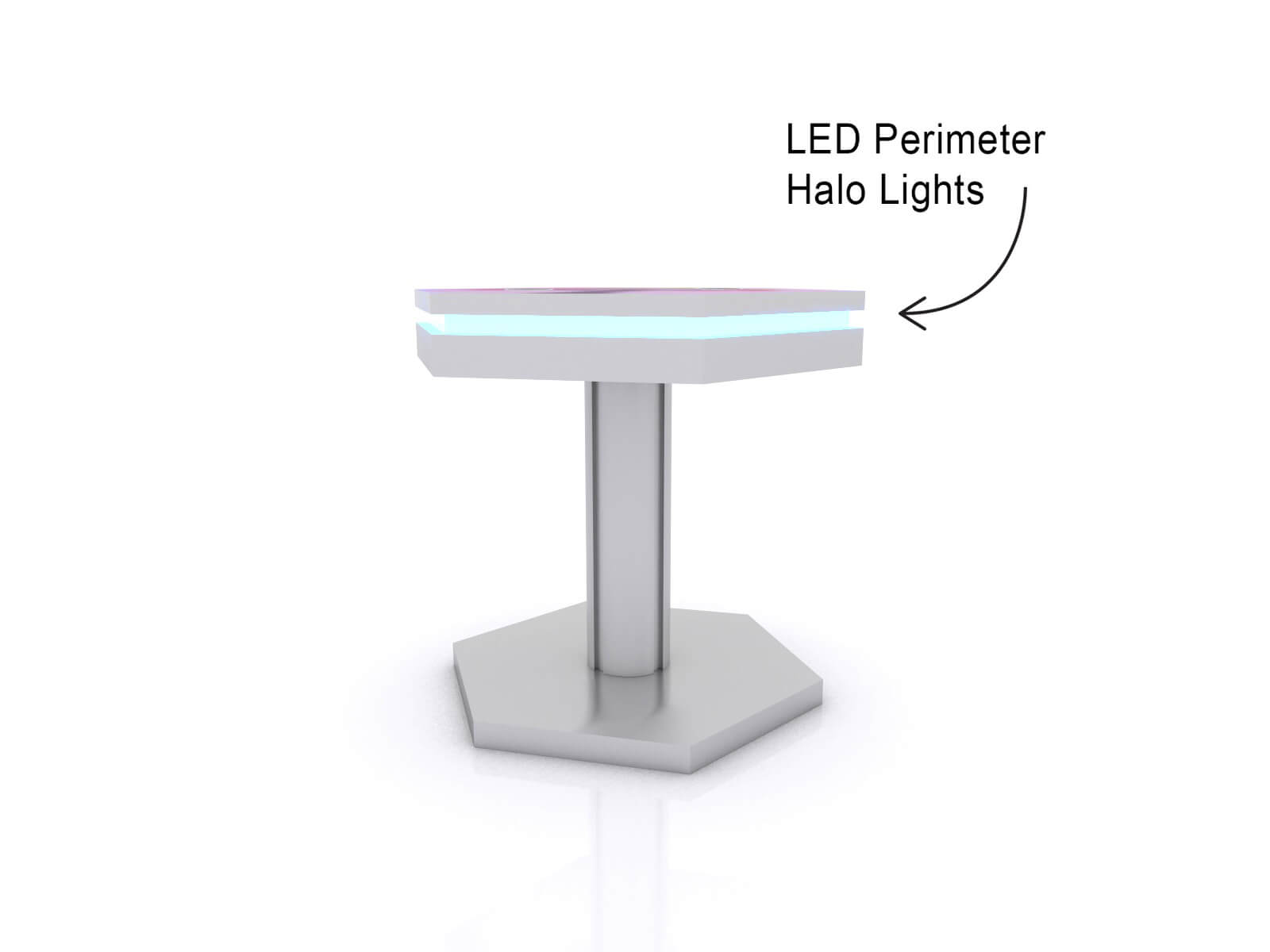 MOD-1466 Trade Show and Event Wireless End Table Charging Station - image 2