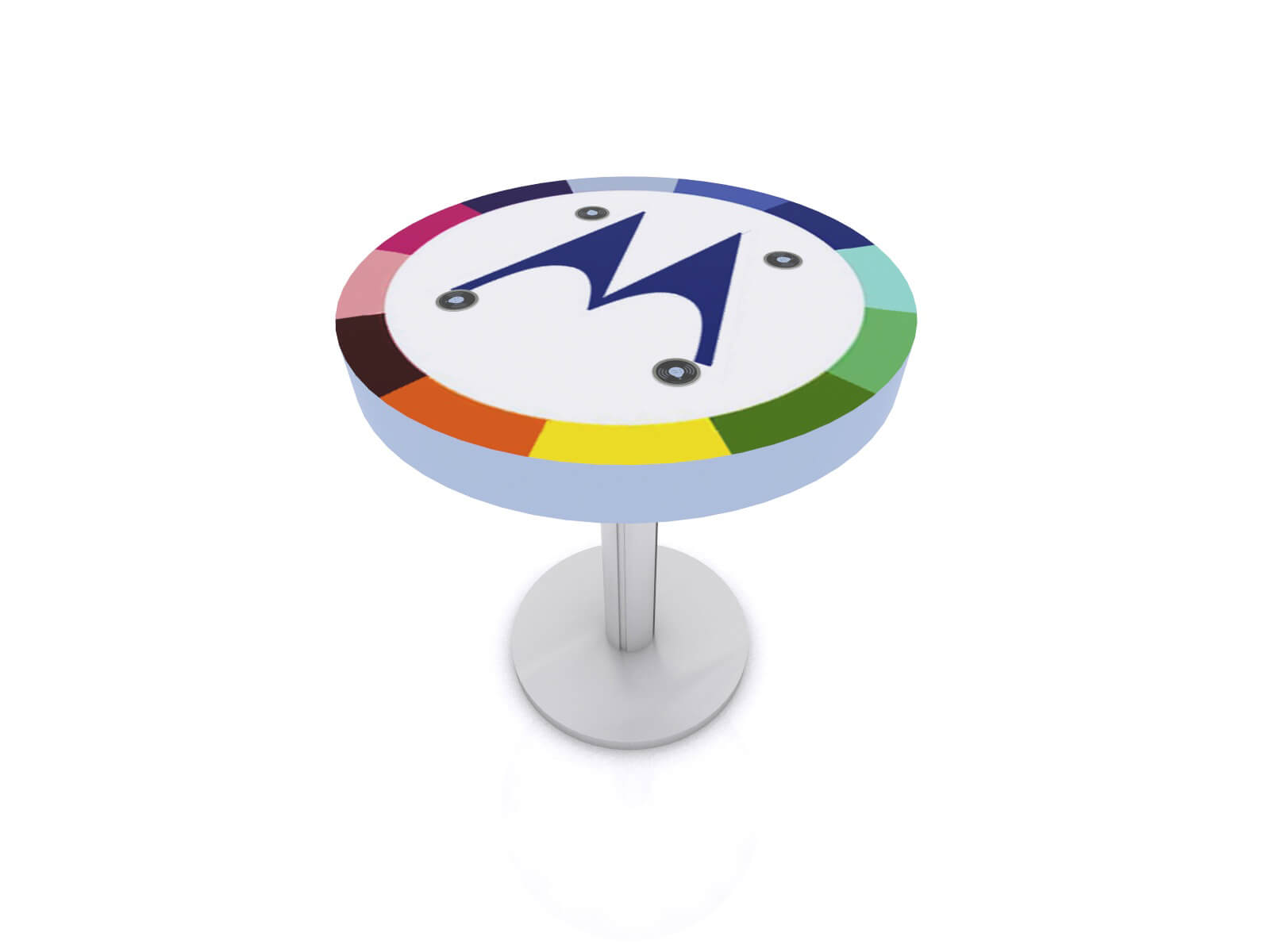 MOD-1468 Trade Show and Event Wireless Charging Table - image 1
