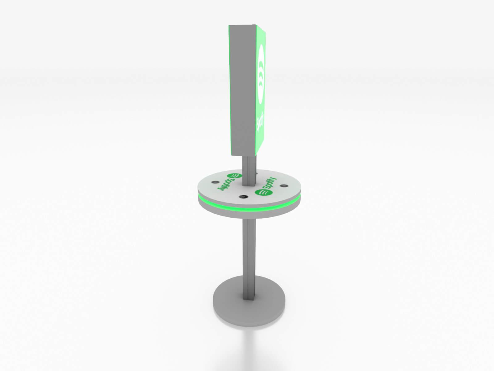 MOD-1475 Trade Show Lightbox Charging Station - image 3
