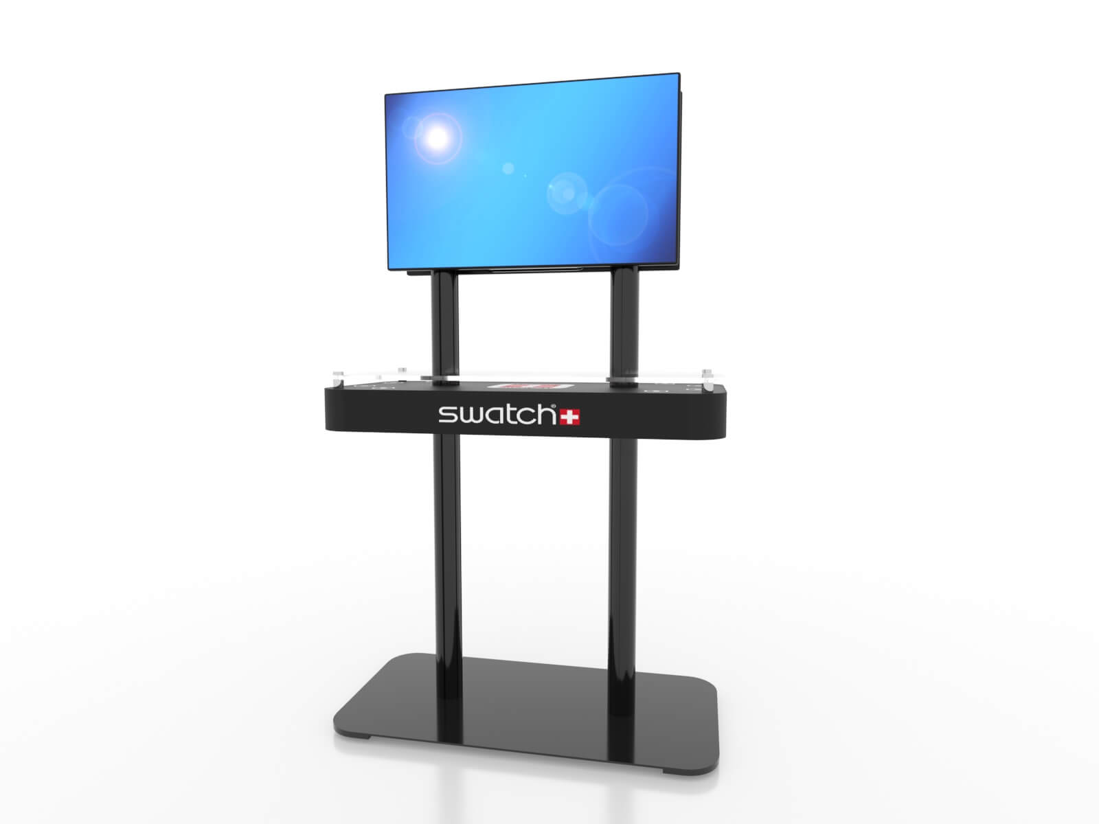 MOD-1477 Trade Show Monitor Stand Charging Station - image 2