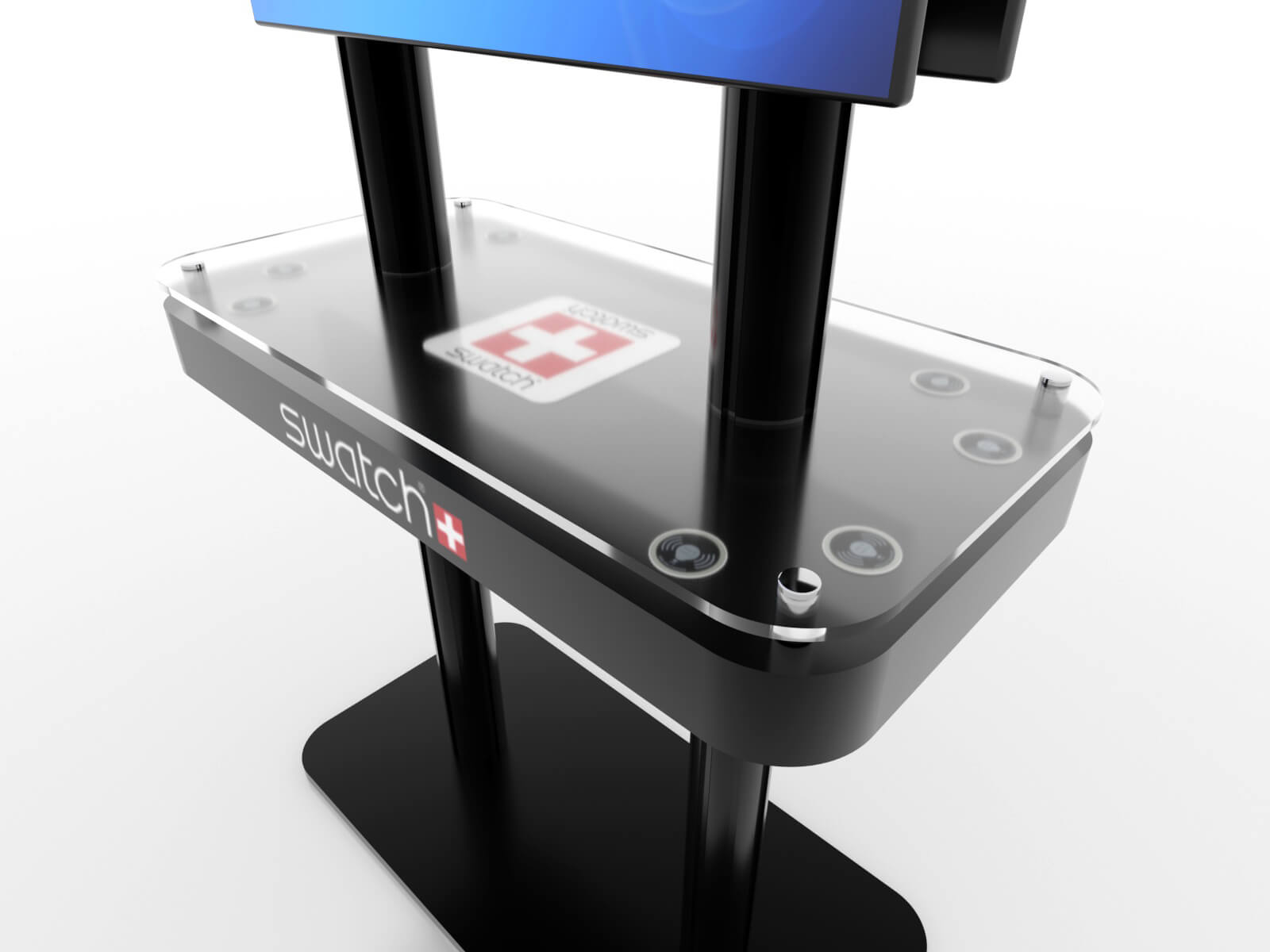 MOD-1477 Trade Show Monitor Stand Charging Station - image 4