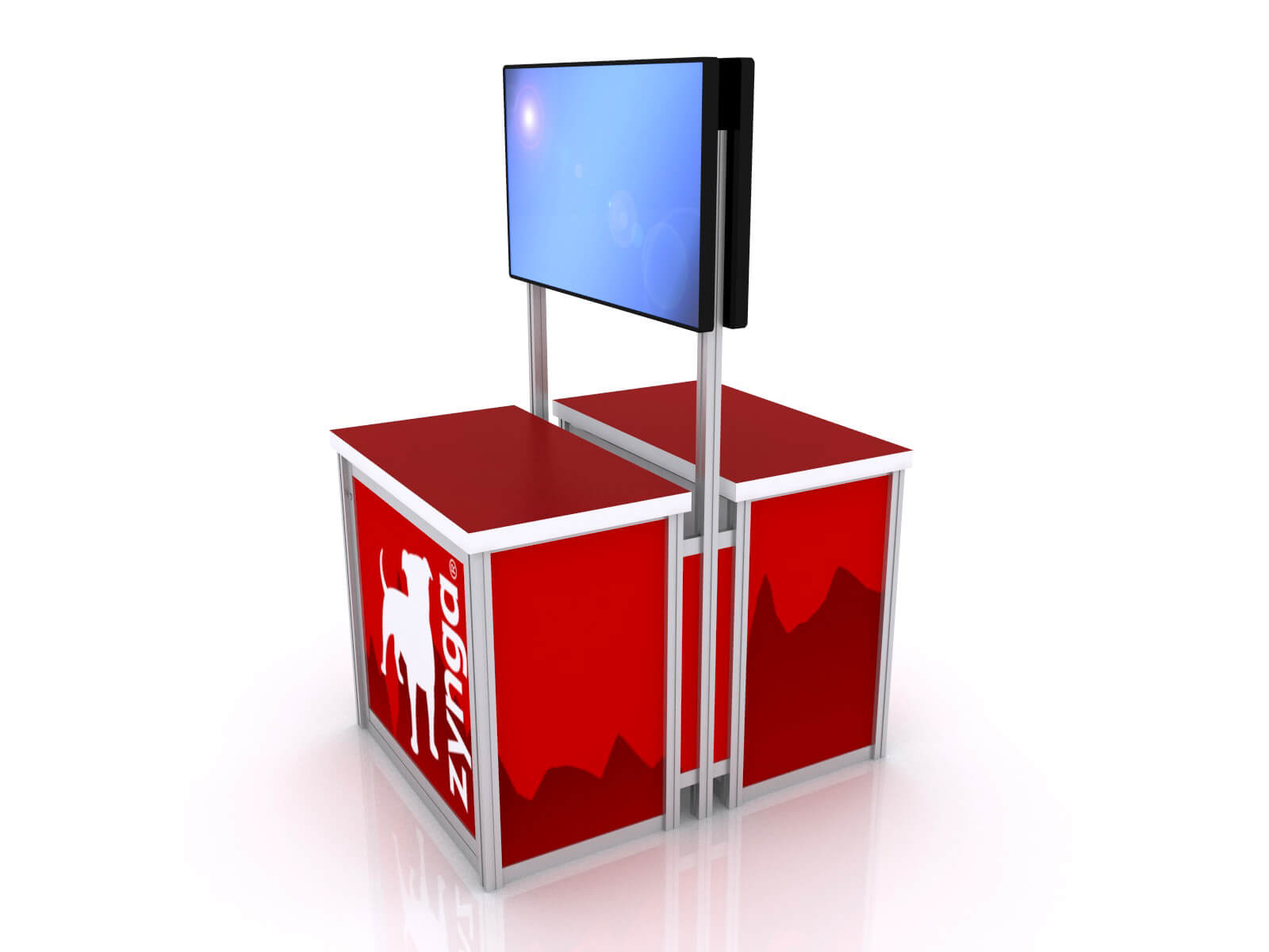 MOD-1562 Trade Show Monitor Stand - image 2