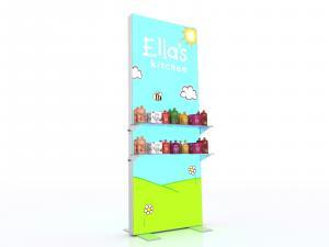 MOD 1615D Lightbox w Shelves