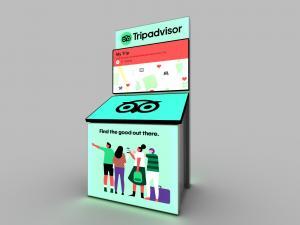 MOD-1712 Monitor Kiosk