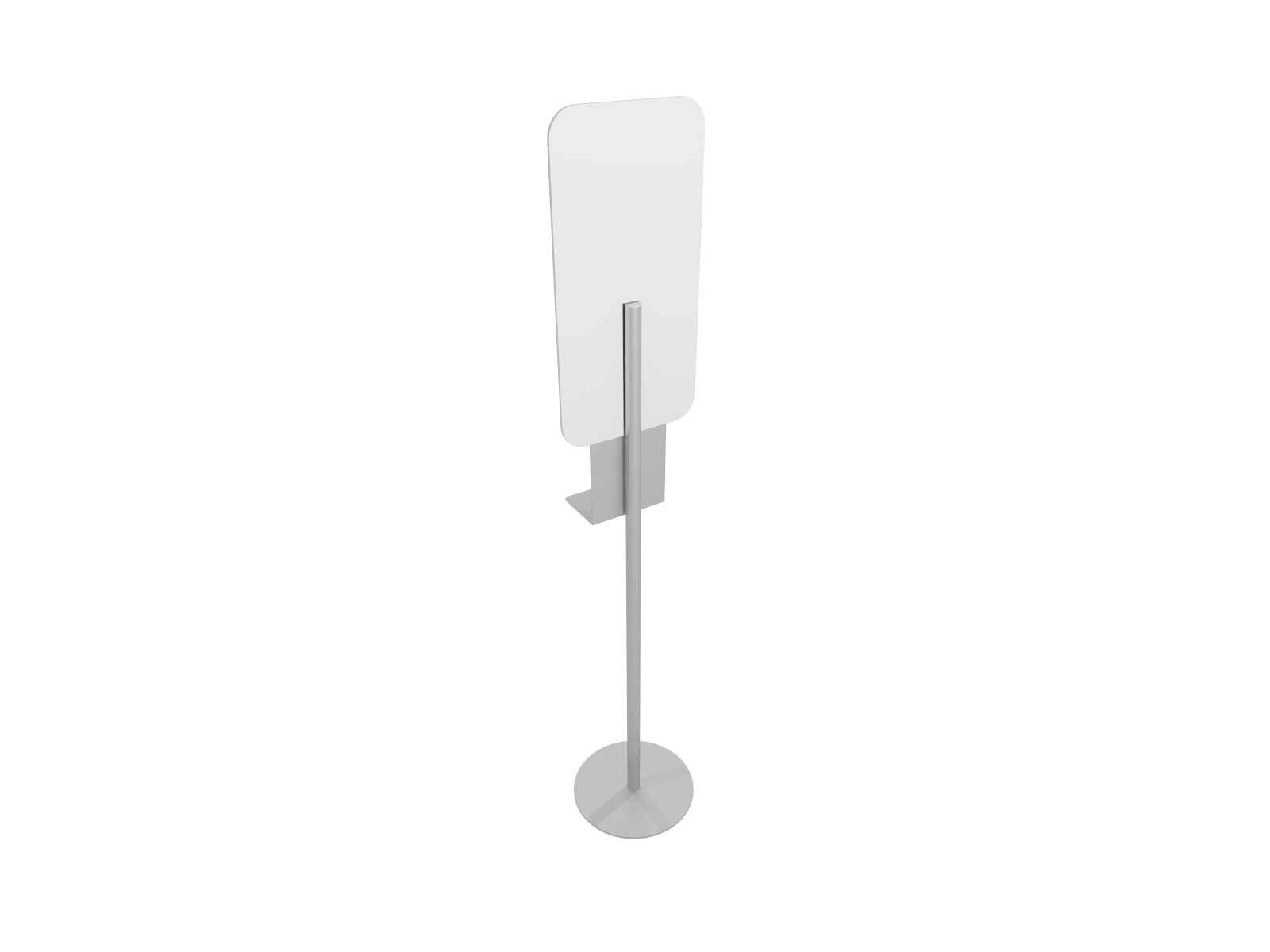 MOD-9009 Hand Sanitizer Stand w SS Graphic - image 4