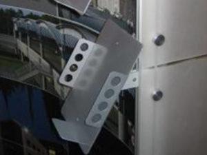 Metal Literature Rack