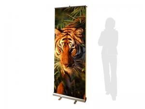 PRONTO2 2-Sided Retractable Banner Stand