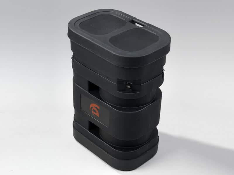 Portable Roto-molded Case with Wheels (28 W x 19 D x 38 H)