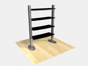 RE 1253 Freestanding Shelf Display
