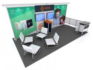 RE-2085 Hybrid Booth
