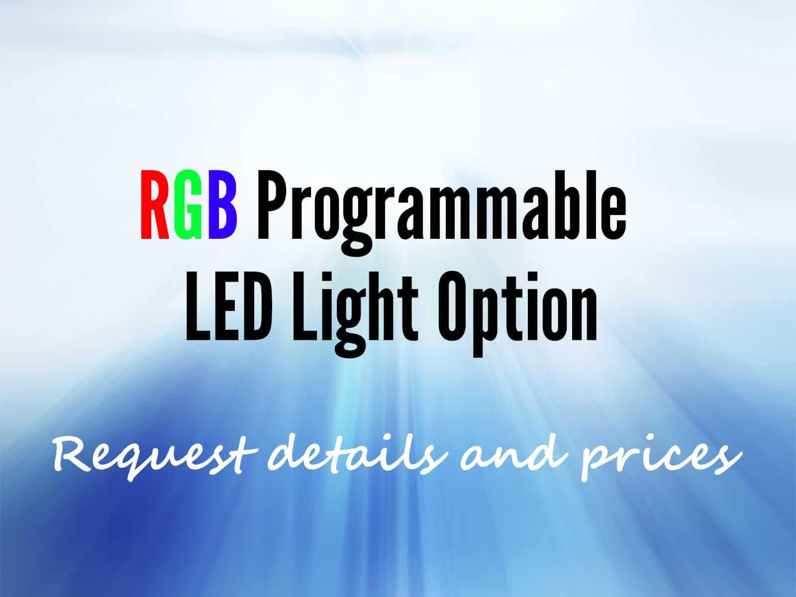 RGB Programmable LED Light Option