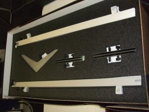 SEGUE Sunrise Backwall Die-Cut Foam Packaging (Example)