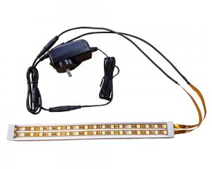 Super High Output LED Stick Light Flat Channel Double Row