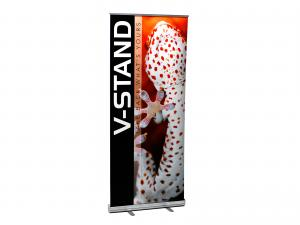V-Stand Retractable Banner Stand