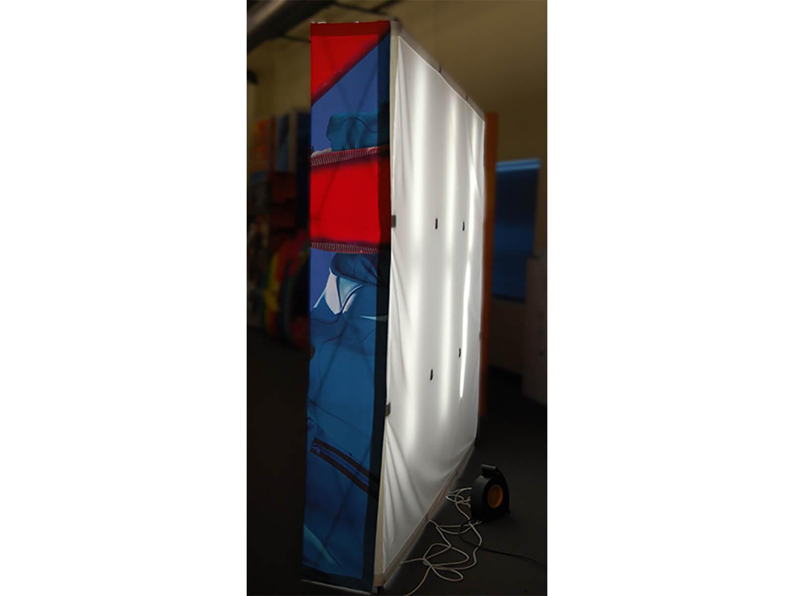 VBurst 8ft Kit Flat BACKLIT 10ft x 10ft space