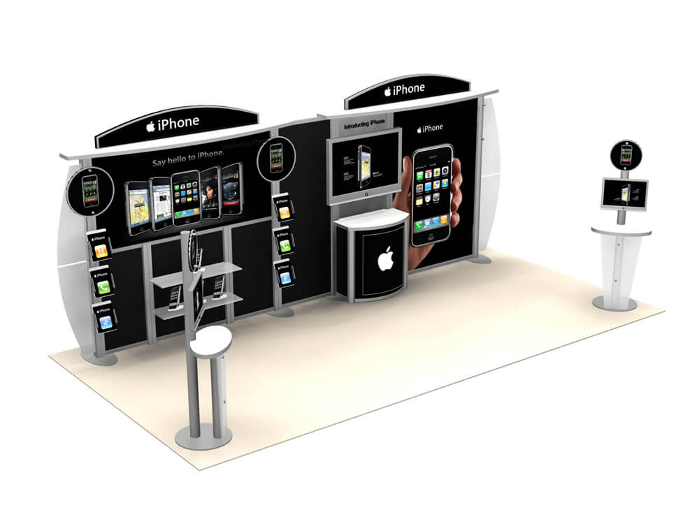 VK-2044 Hybrid Booth - image 2