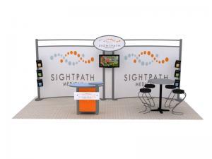 VK-2072 Hybrid Booth