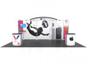 VK-2986 Hybrid Booth