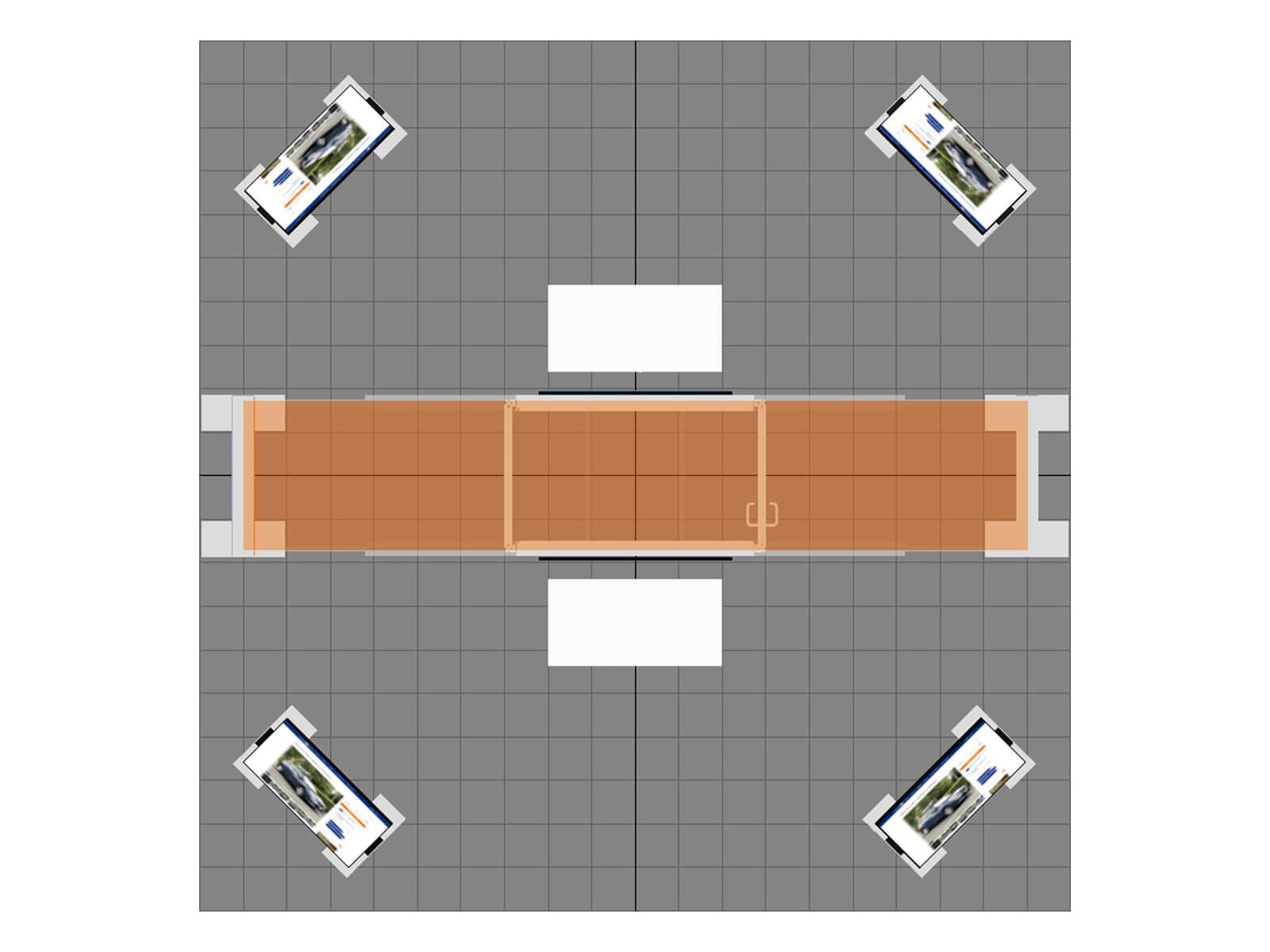 VK-5169 Island Tower - plan view