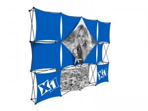 X1 10ft 4x3 N Fabric Pop Up Display