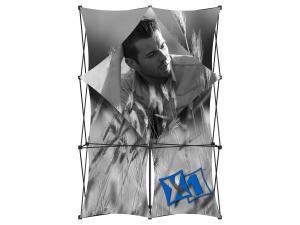 X1 5ft - 2x3 A Fabric Pop-Up Display