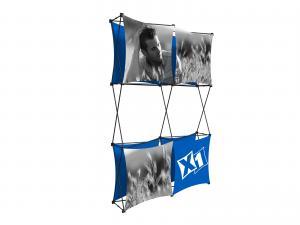X1 5ft - 2x3 F Fabric Pop-Up Display