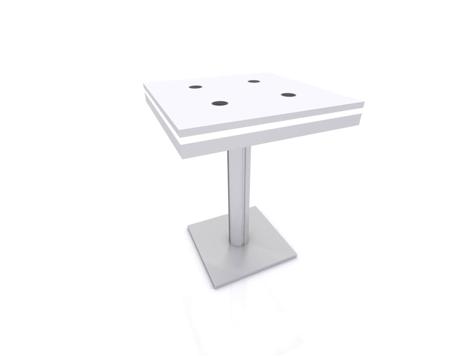 MOD-1454 Wireless Bistro Table without Graphic