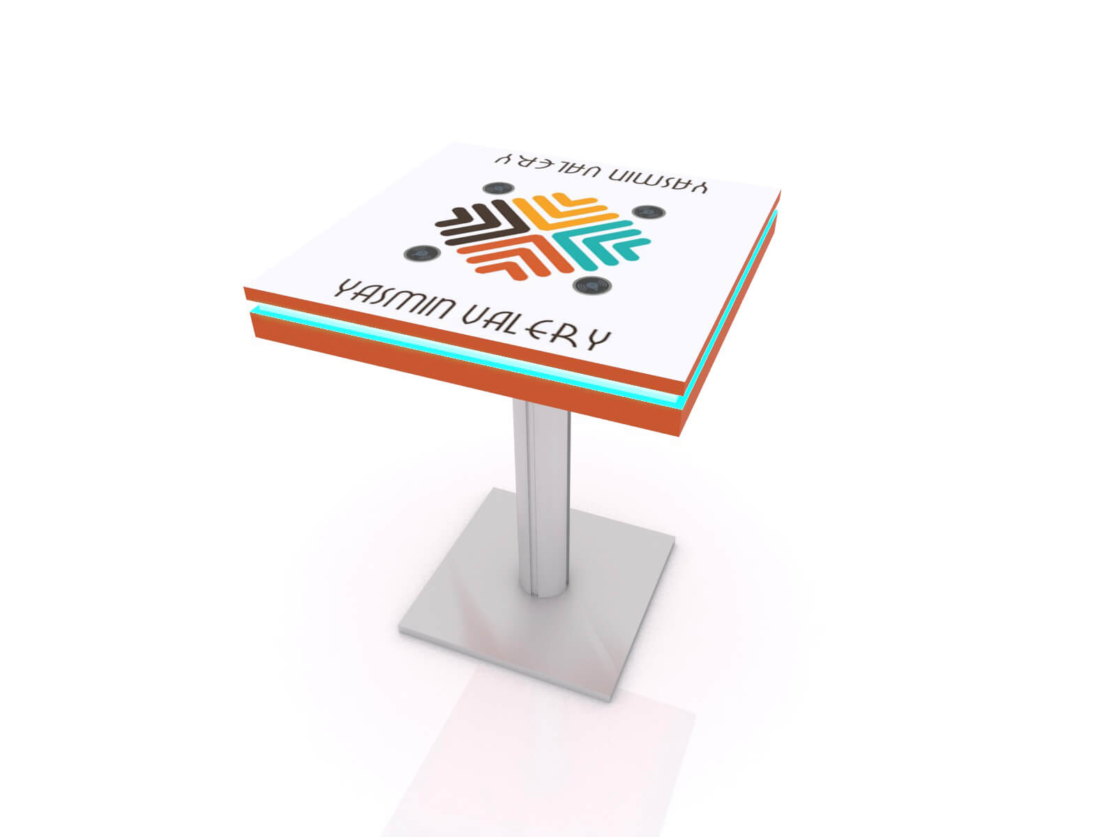 MOD-1454 Wireless Charging Bistro Table - Image 1