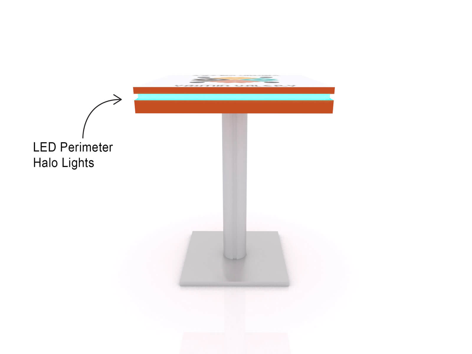 MOD-1454 Wireless Charging Bistro Table - Image 4