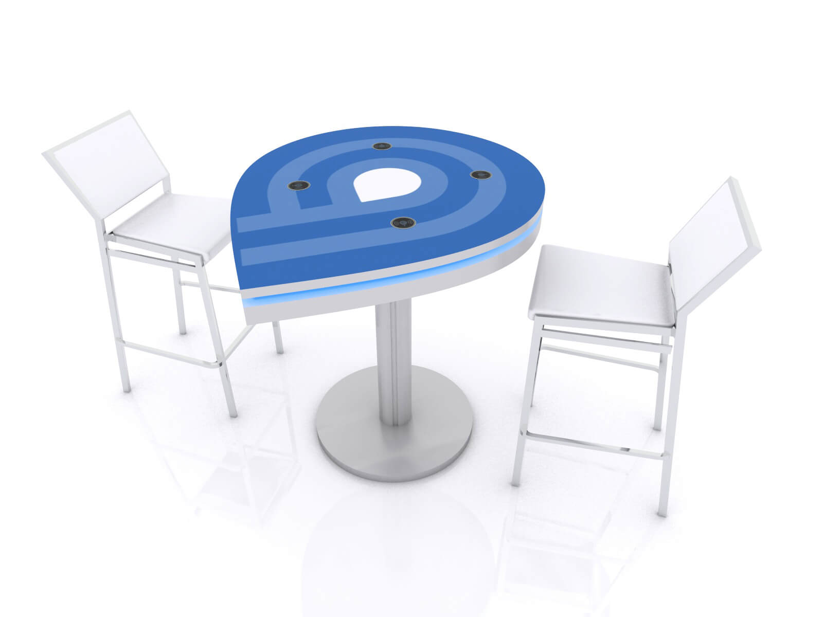 MOD-1457 Trade Show Wireless Charging Station - Image 1