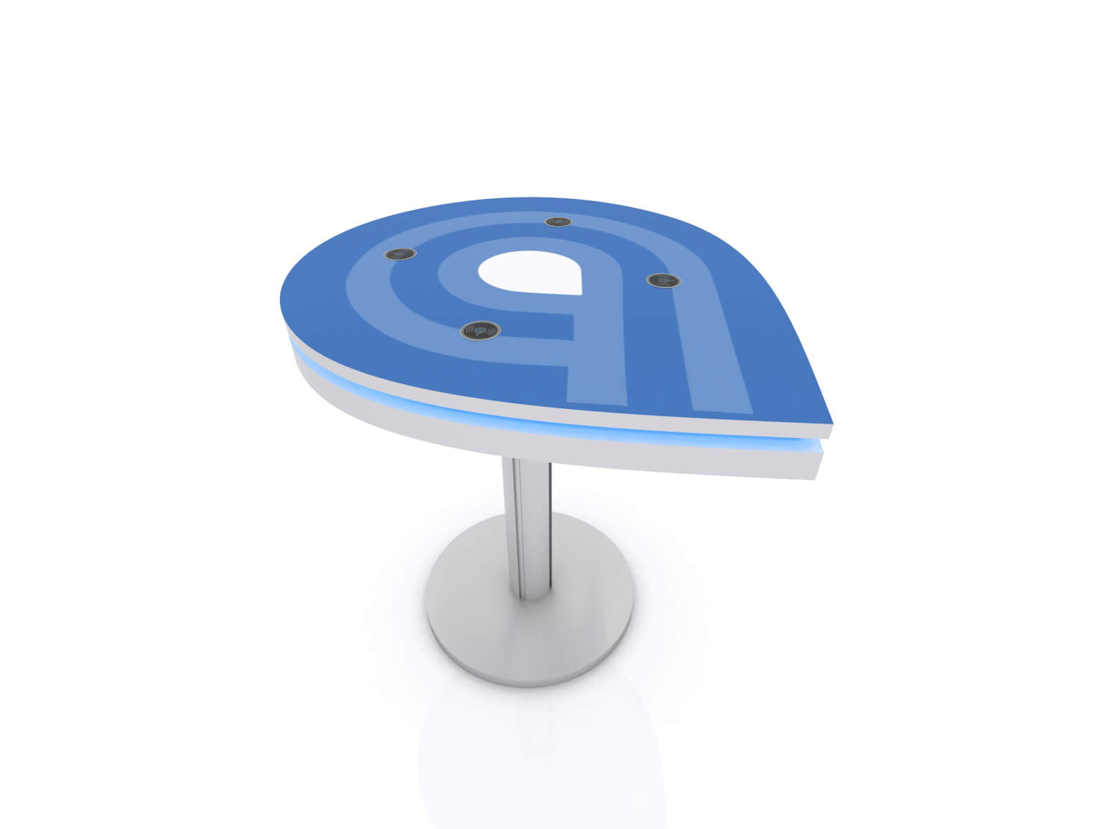 MOD-1457 Trade Show Wireless Charging Station - Image 2